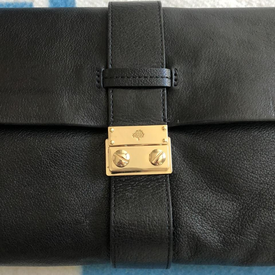 Mulberry Black Leather Clutch - Tradesy 337ed2bbc7dc5