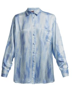 Sies Marjan Button Down Shirt Blue, Milky