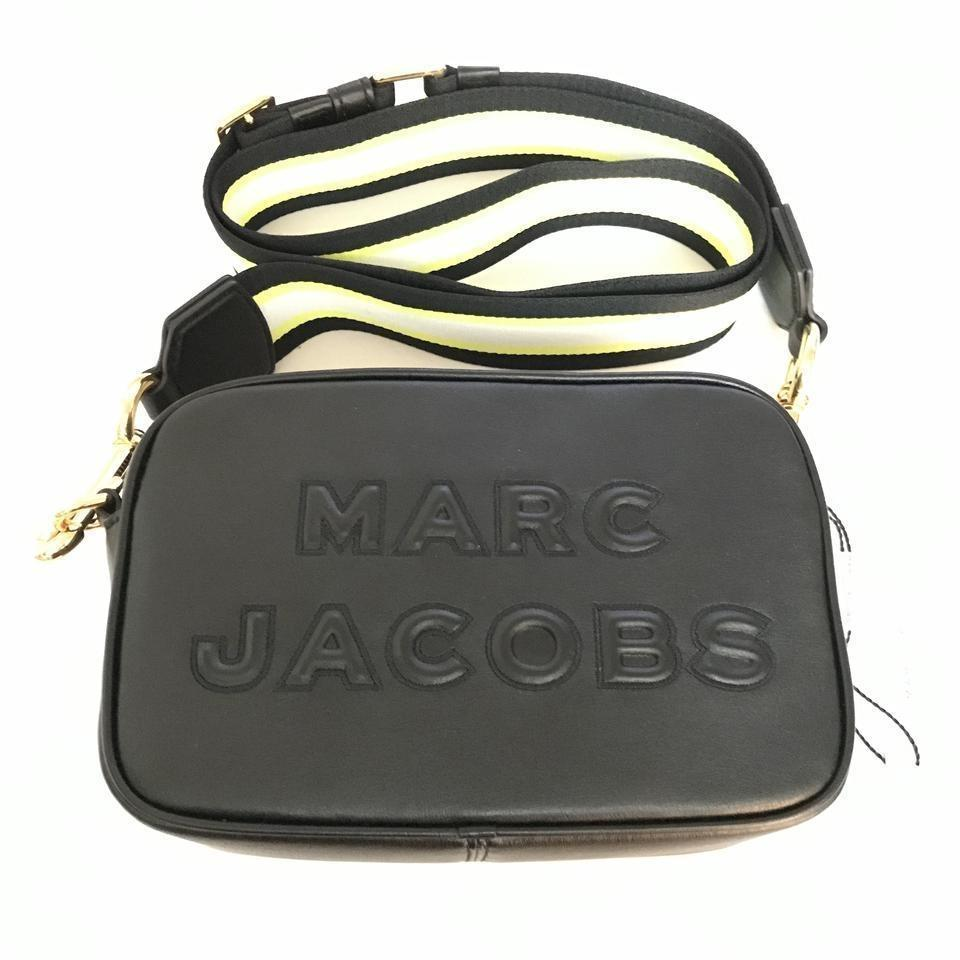 5981997d6 Marc Jacobs Flash Black Leather Cross Body Bag - Tradesy