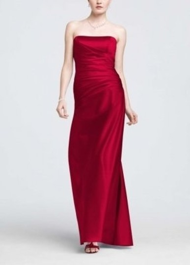 Preload https://img-static.tradesy.com/item/24717/david-s-bridal-apple-satin-strapless-ruched-ball-gown-style-f13974-formal-bridesmaidmob-dress-size-6-0-0-540-540.jpg