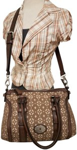 Fossil Maddox Reissued Tote in brown