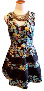 Katia short dress Multi Floral on Tradesy