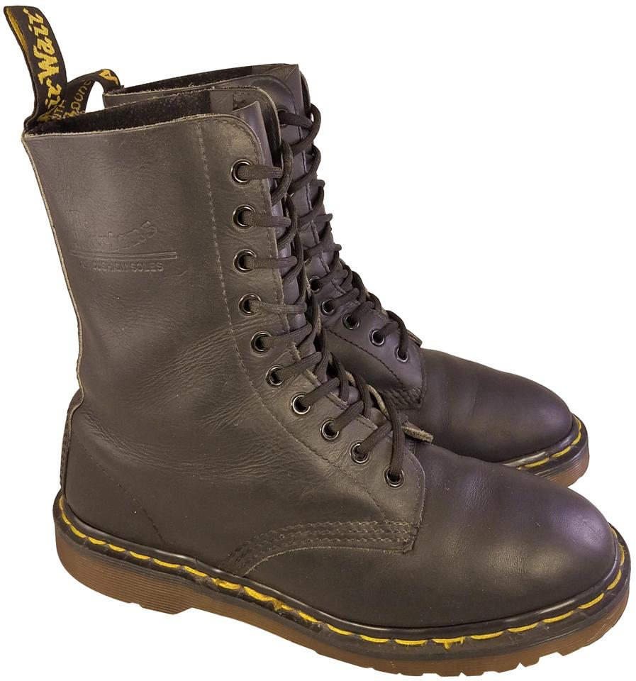 6ffb2ae5a11 Dr. Martens Black Vintage Made In England 10-eyelets Uk 6 - Man 7  Boots/Booties Size US 8 Regular (M, B)