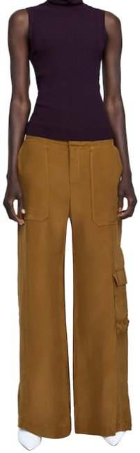 Item - Brown Flowy Cargo Taupe Pants Size 2 (XS, 26)
