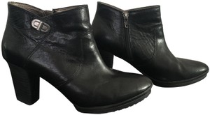 Easy Spirit Leather Black Boots