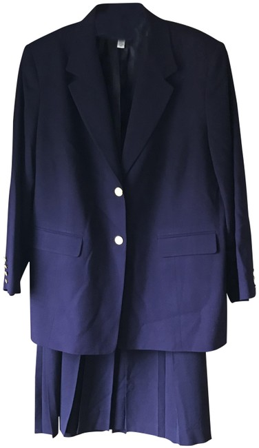 Item - Purple Jacket and Wool Skirt Suit Size 20 (Plus 1x)