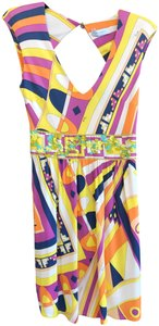 Yellow Maxi Dress by Emilio Pucci