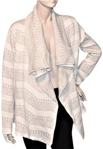 Pixley Draped Open Front Cashmere Blend Cardigan