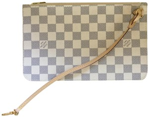 Louis Vuitton Wristlet in Beige