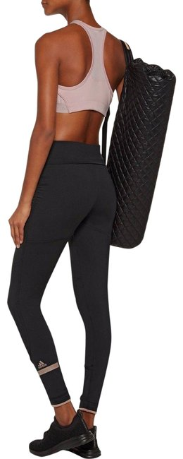 Item - Black Women's The Performance Fold Over Activewear Bottoms Size 12 (L, 32, 33)