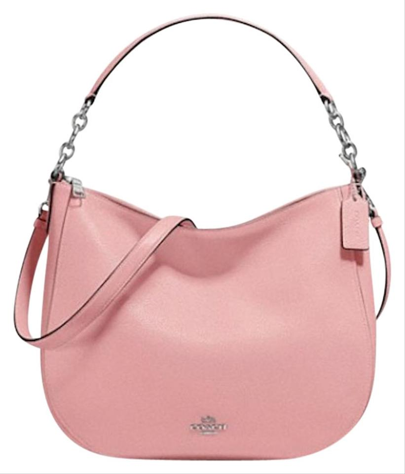12f13658c Coach Chelsea 32 In Pebble Peony Leather Hobo Bag - Tradesy