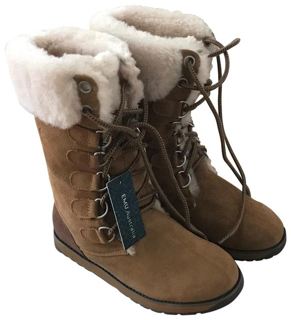 Item - Tan Wool Lined Boots/Booties Size US 5 Regular (M, B)