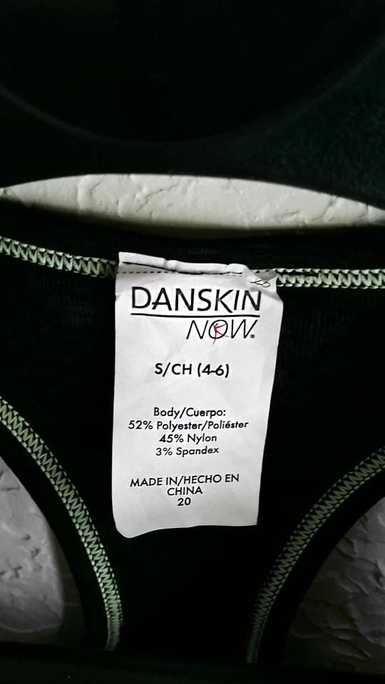 616ecf5617f75 Danskin Now Black Gray Heather Performance Fitted Seamless Activewear  Sports Bra