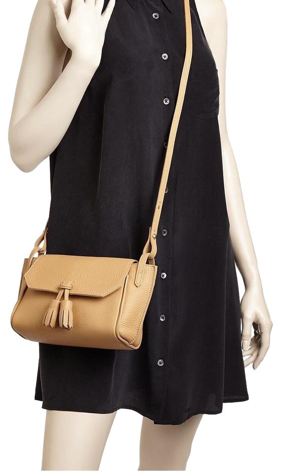 special selection of select for original beauty Longchamp Penelope Natural Beige/Gold Leather Cross Body Bag