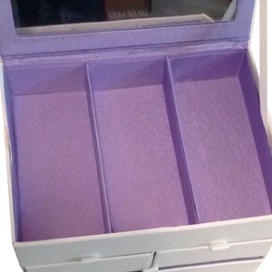 Vera Wang New Vera Wang white Accessories Jewelry Box With Mirror