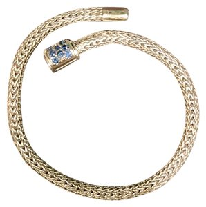 John Hardy Classic Chain Bracelet with Pave Clasp