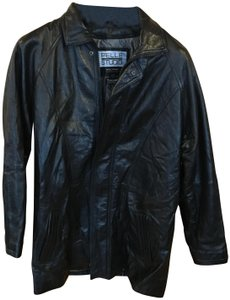 48a037389 Pelle Studio Black Leather Jacket Thinsulate Lining By Wilson Leathers  Blazer Size 10 (M)