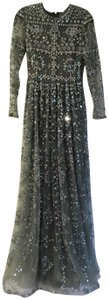 Valentino Mrsp 28000 Mirrored Runway Gown Stunning Dress