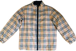 Burberry Reversible Vintage Check Padded Unisex Motorcycle Jacket