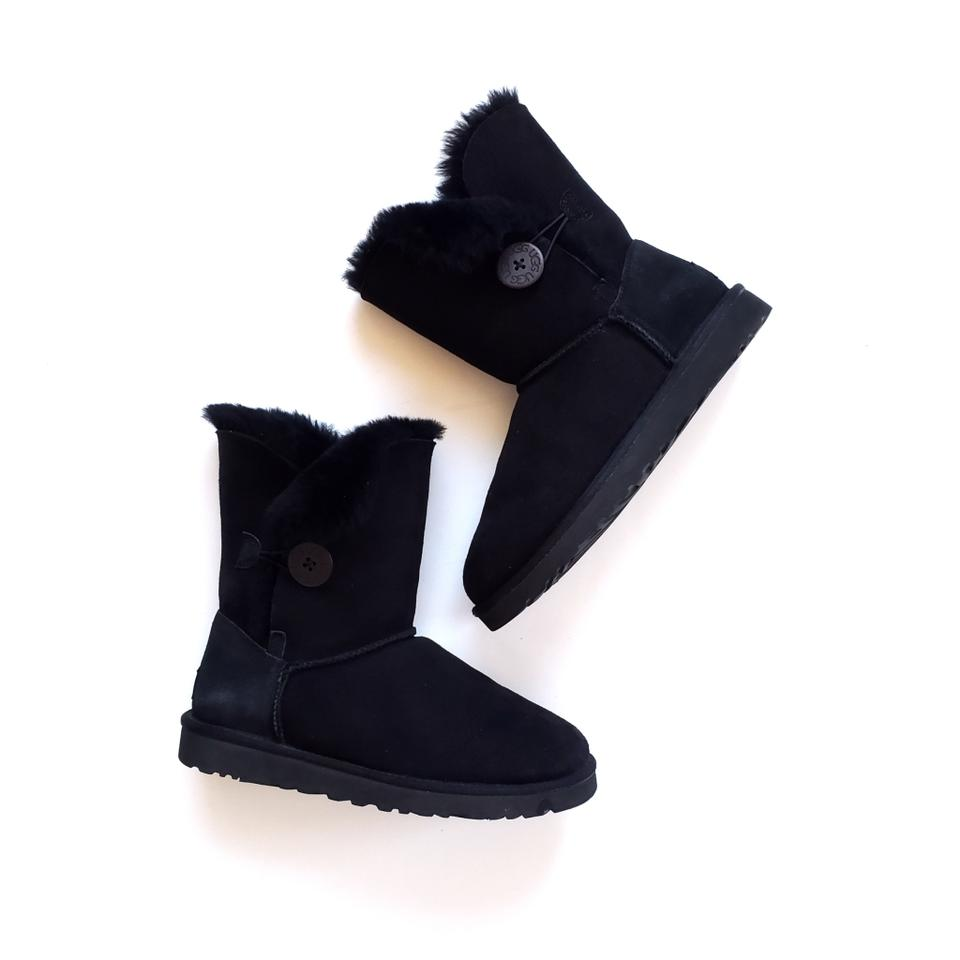 8d74246fdfb UGG Australia Black Bailey Button Boots/Booties Size US 7 Regular (M, B)  41% off retail
