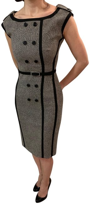 Item - Brown Wool Mid-length Formal Dress Size 2 (XS)