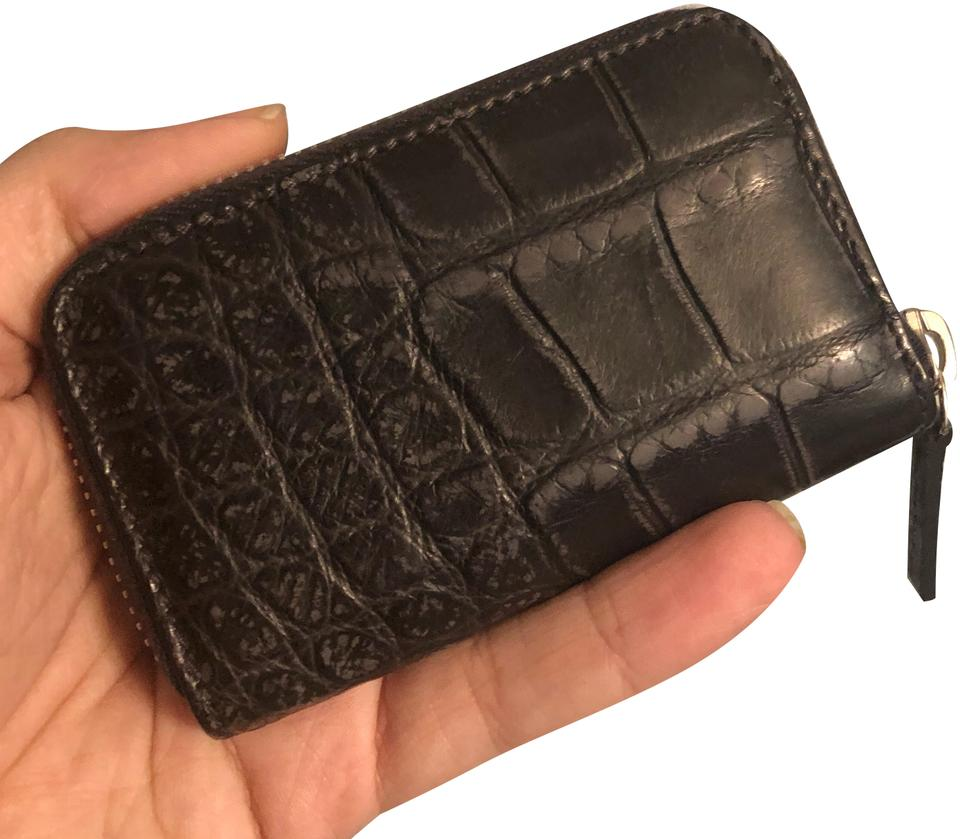 2d76d417c5e Gucci Gucci Crocodile Card Case  Mini Wallet Image 0 ...
