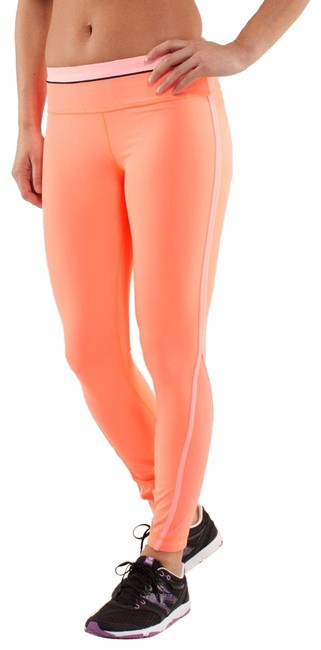 Item - Orange Run: Pace Tight Activewear Bottoms Size 4 (S, 27)