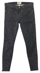Current/Elliott Lace Ankle Skinny Jeans