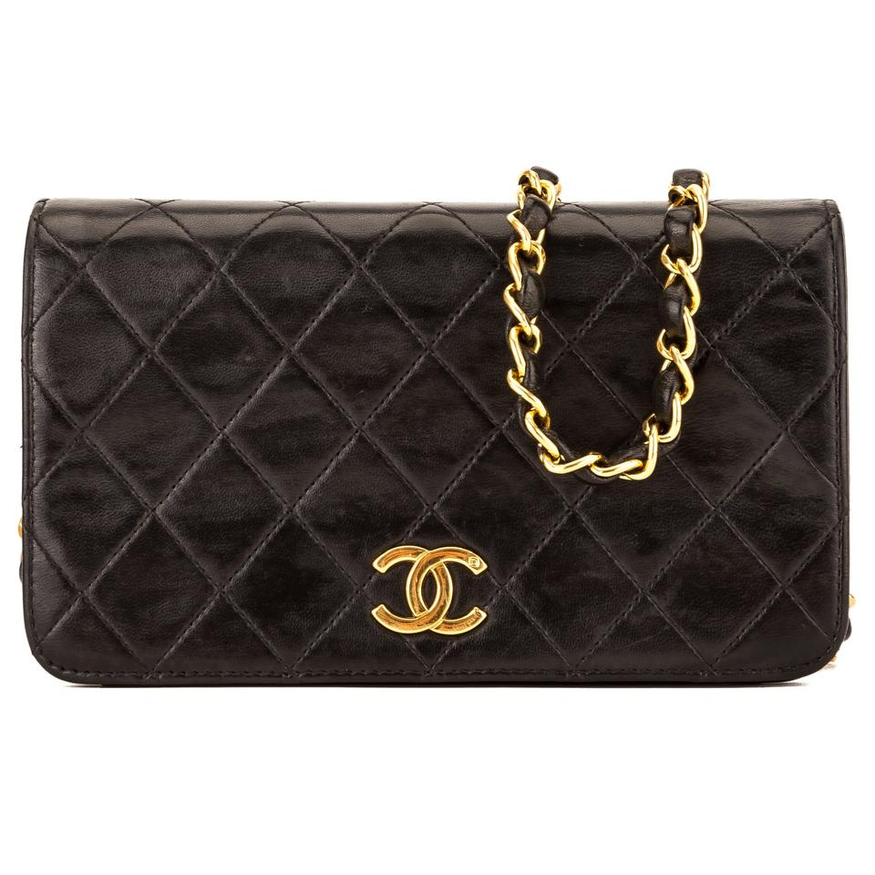130e48dca767 Chanel Clutch Quilted Chain 3996003 Black Lambskin Shoulder Bag ...