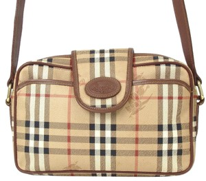 Burberry Early Two-way Style Expandable Sides Excellent Vintage Perfect For Everyday Cross Body Bag
