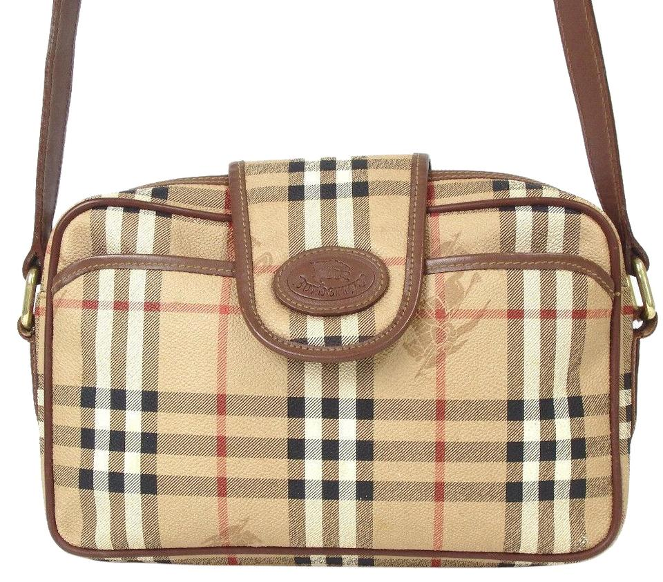 Burberry Early Two-way Style Expandable Sides Excellent Vintage Perfect For  Everyday Cross Body Bag ... b42d178213421