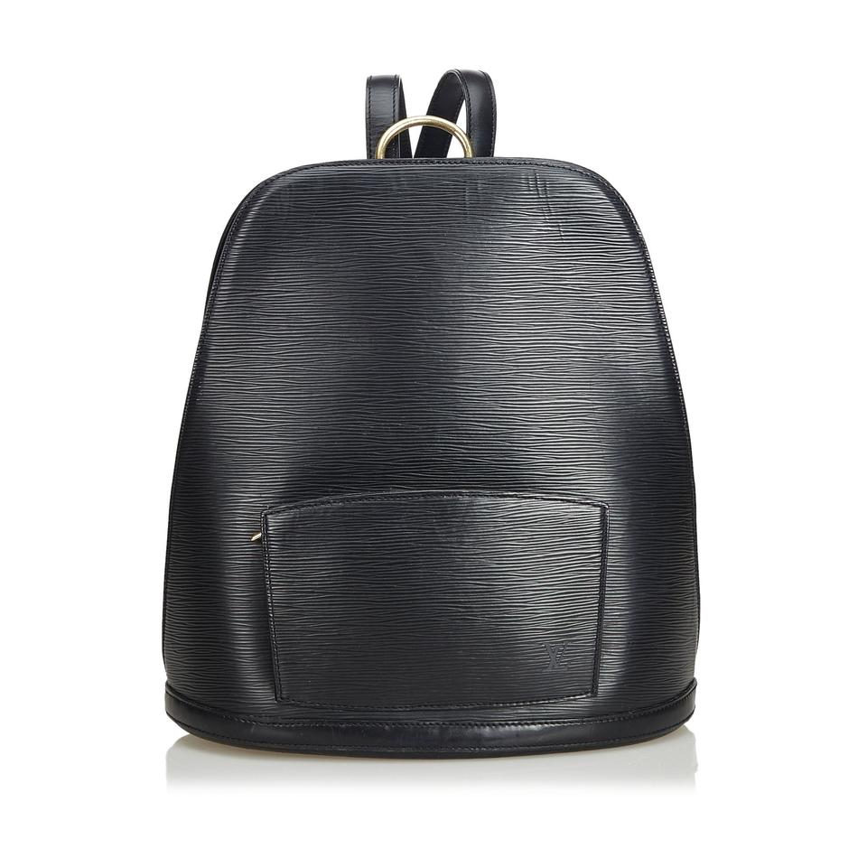 5df73f5d8095 Louis Vuitton Epi Gobelins Black Cowhide Leather Backpack - Tradesy