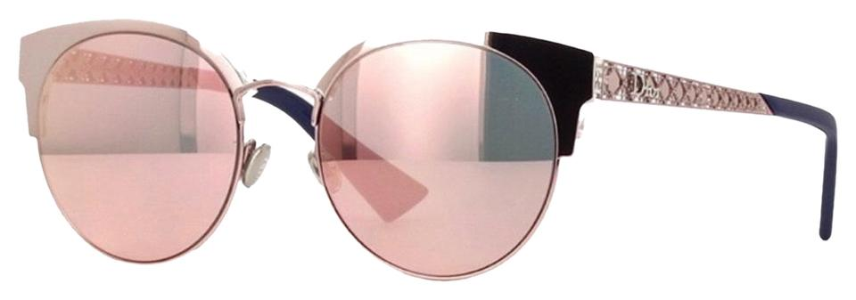 76913c65fb Dior Pink Diorama Mini Rose Gold Sunglasses - Tradesy