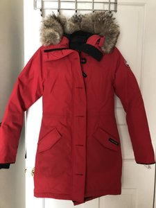 cf3f1b92baa Red Canada Goose Outerwear - Up to 70% off a Tradesy