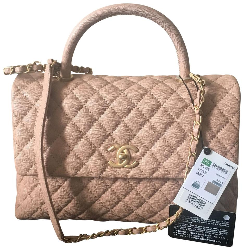 9b148b5f1b77ef Chanel Coco Handle Sold Out 18s with Antique Gold Hw Dark Beige ...
