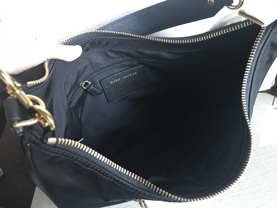1c04abe0953e Marc Jacobs Trooper Black Nylon Hobo Bag - Tradesy