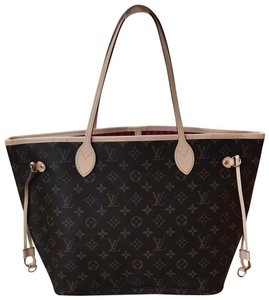 Louis Vuitton Palm Spring Backpack Tote in MONOGRAM/ CERISE