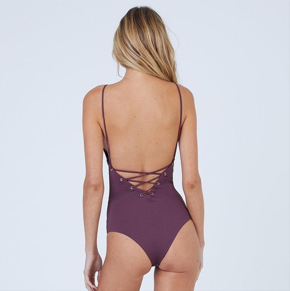 1ce067efcb TAVIK Wine Monahan One-piece Bathing Suit Size 4 (S) - Tradesy