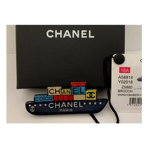 Chanel Chanel CC coco pin/brooch. New with box.