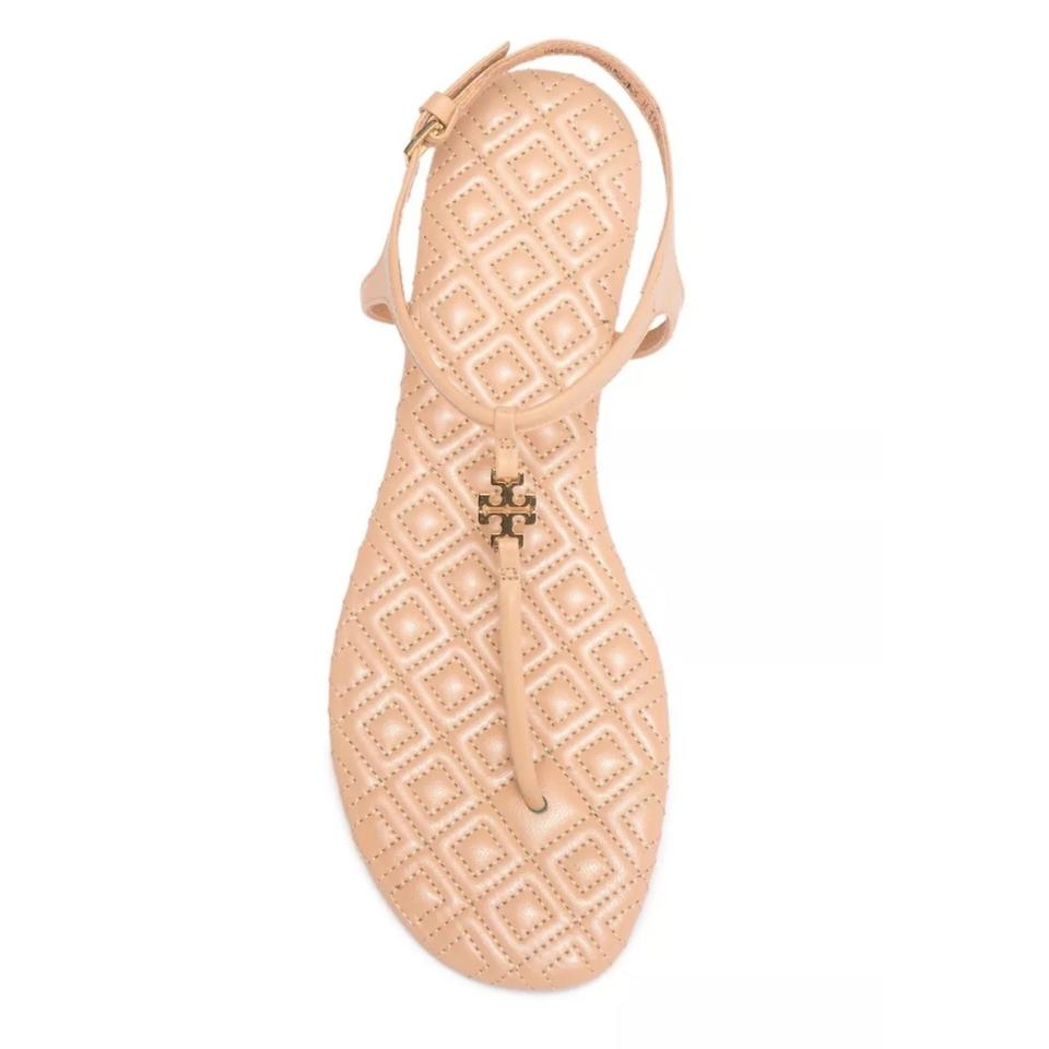 4f2a0075c Tory Burch Beige Marion T T-strap Sandals. Size  US 9.5 Regular (M ...