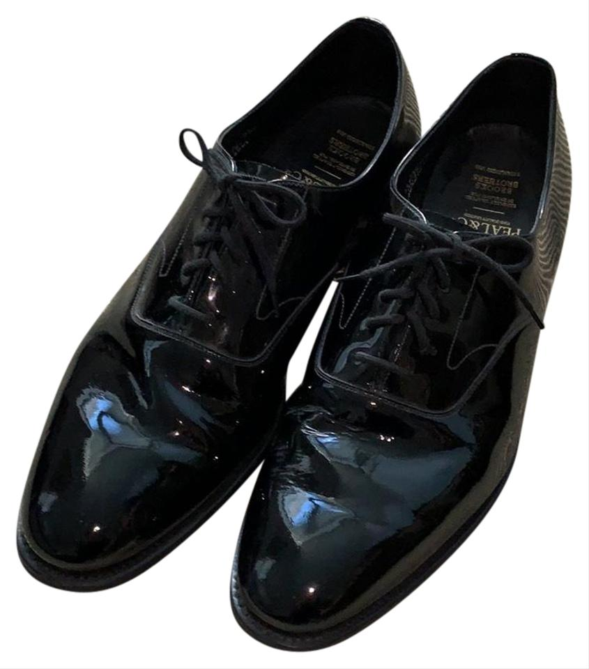 54d08a06e01 Brooks Brothers Black Patent Leather Formal Shoes Size US 13 Regular ...