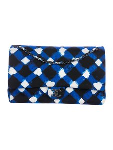 Chanel Airline Runway Blue Cross Body Bag