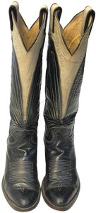 Lucchese Grey black Boots