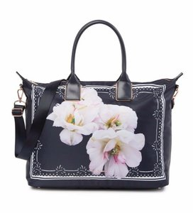 Ted Baker Travel Diaper Beach Shoulder Gardenia Kalmia Tote in Blue