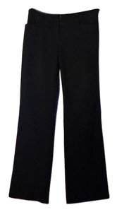 New York & Company Ny&co Office Pockets Hook-and-bar Stretch Straight Pants Black