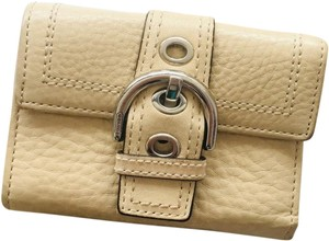 Coach Coach Small Buckle Wallet