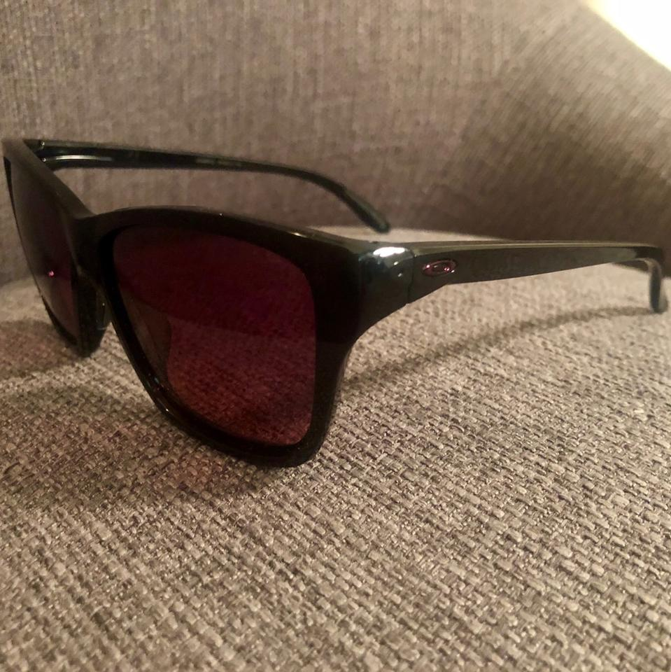 49ee2396a3 Oakley Black and Pink Hold On Polarized Sunglasses - Tradesy