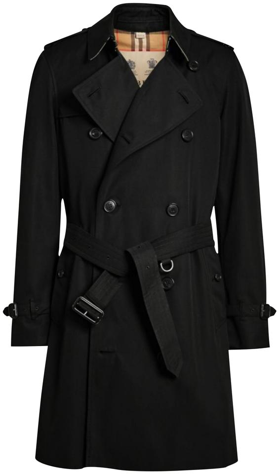 real deal factory authentic hot-selling professional Burberry Black Men's The Chelsea Heritage 46uk - 36us Coat Size 4 (S) 36%  off retail