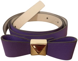 Kate Spade Kate Spade Purple and Gold Belt
