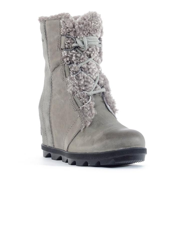 3643f792b104 Sorel Quarry Joan Of Arctic Wedge Ii Lux Boots Booties Size US 9 ...